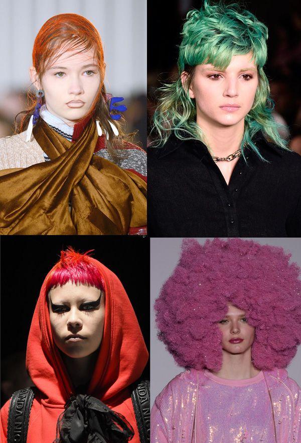 Радуга в волосах