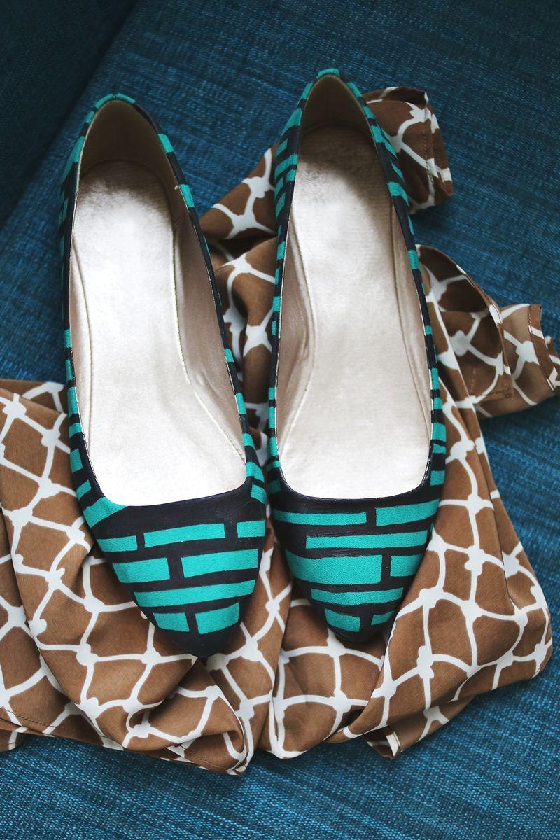 барышня переделка обуви своими руками фото леопарды сегодняшний