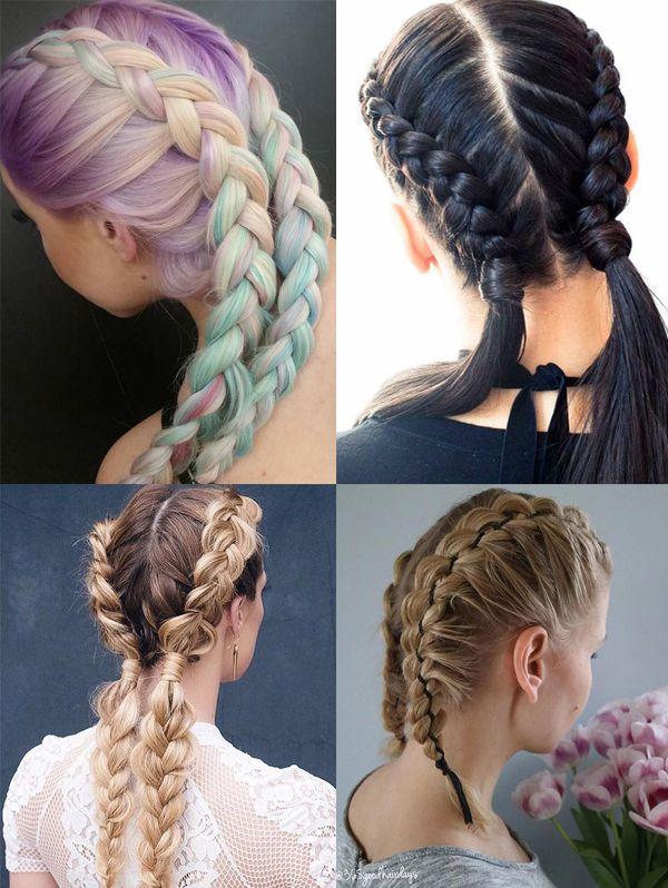 Как плести красивые косы: 6 вариантов разной сложности 45