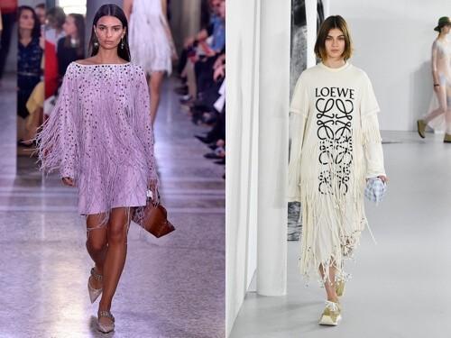 модные платья весна 2019