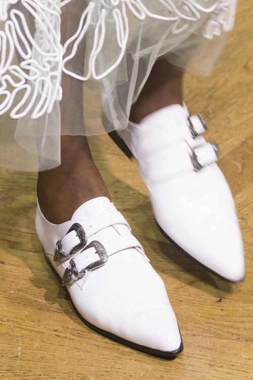модные тенденции обуви весна лето 2018 стиль