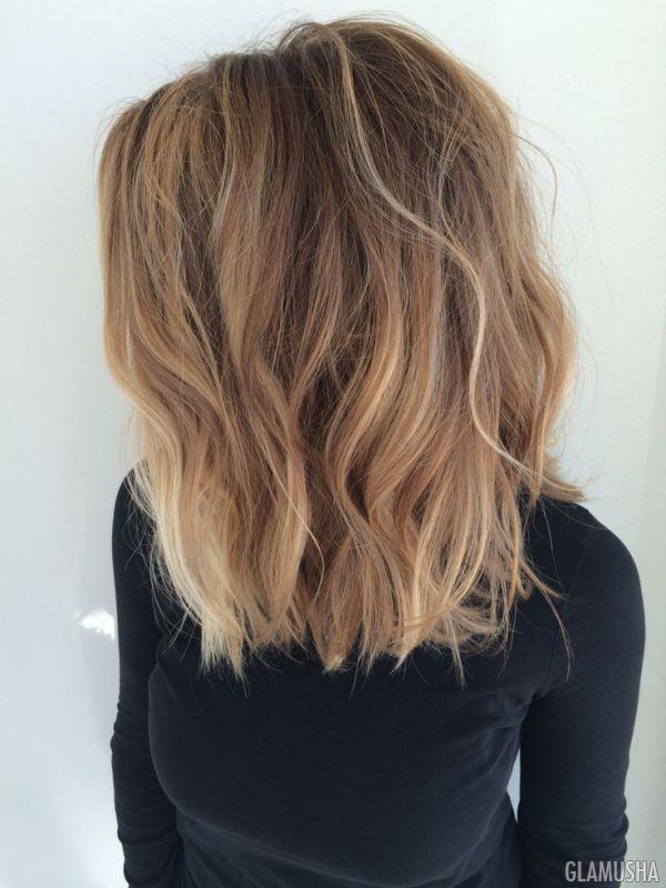 Cиние пряди на темных, черных, светлых и русых волосах: фото идеи и как сделать