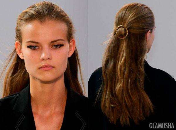 Круглые заколки для волос