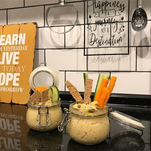 Хумус при ПП: низкокалорийные диетические рецепты