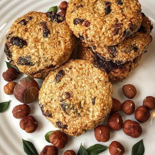 Овсяные печенья ПП: 12 диетических рецептов