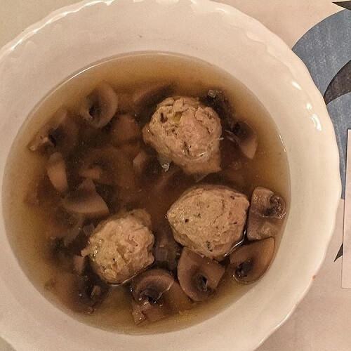 пп грибной суп
