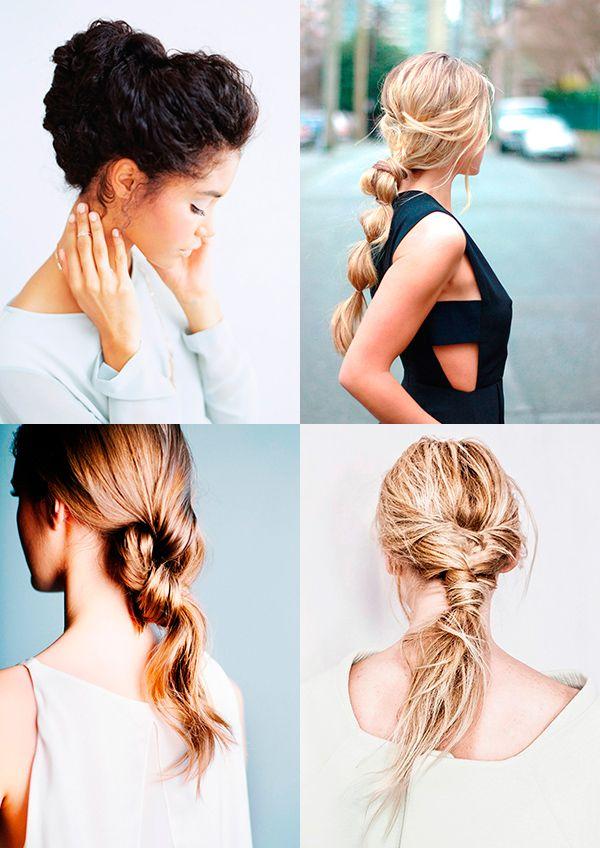 8 простых причесок для «втородневных» волос