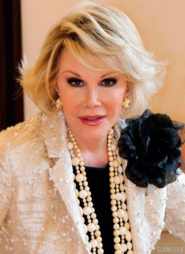 Джоан Риверз трагически скончалась 4 сентября 2014 года