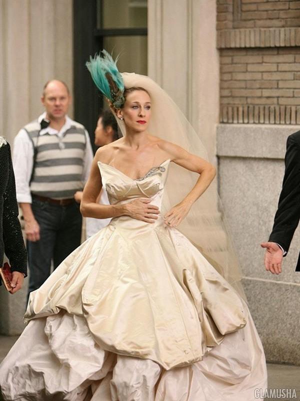 Свадебное платье секс в большом городе