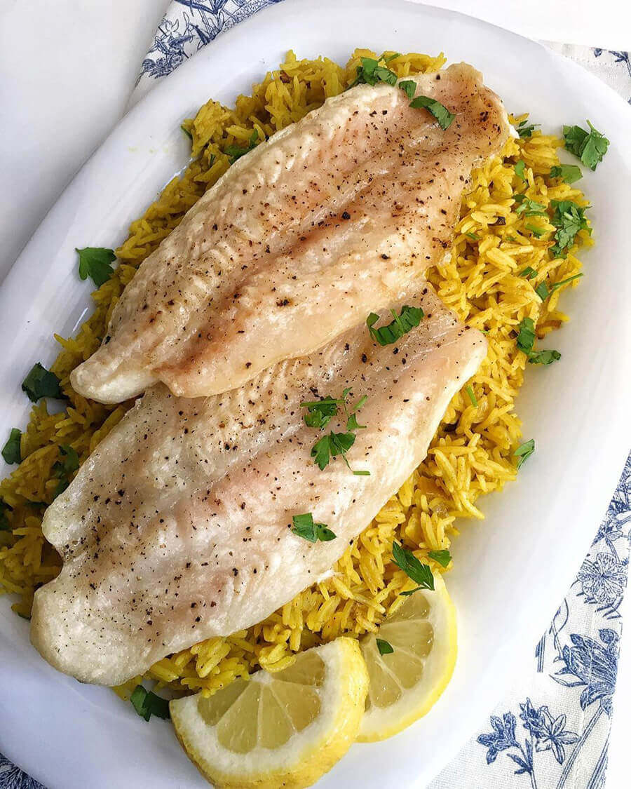 пп обед из рыбы