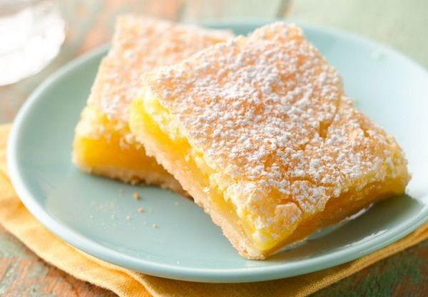 Сочный лимонный пирог: и всего 90 калорий