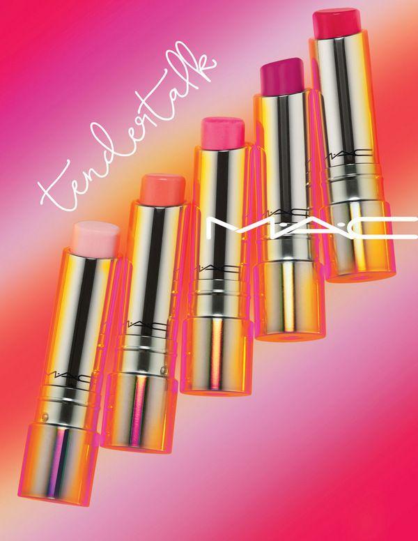Новинка от MAC Cosmetics: коллекция бальзамов для губ Tendertalk