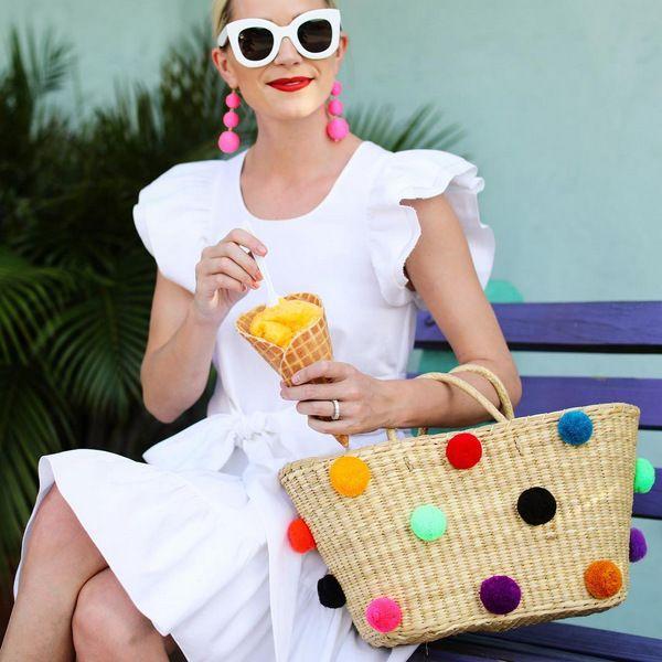 Модные летние образы в белом: Total White
