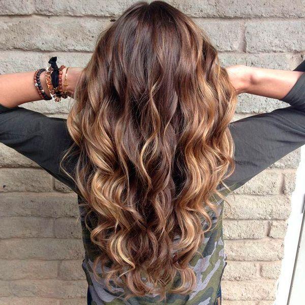 Балаяж на волосы
