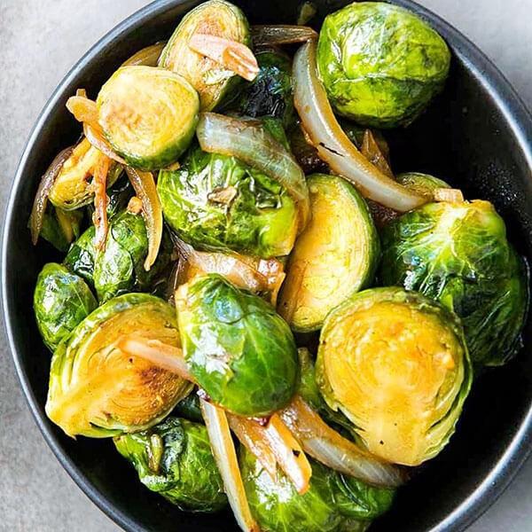 рецепт брюссельской капусты на гарнир