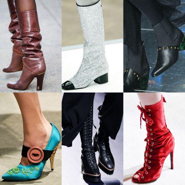 Обувные тренды сезона осень-зима 2017