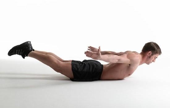 упражнение для укрепления спины от боли