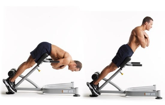 гиперэкстензия для укрепления спины