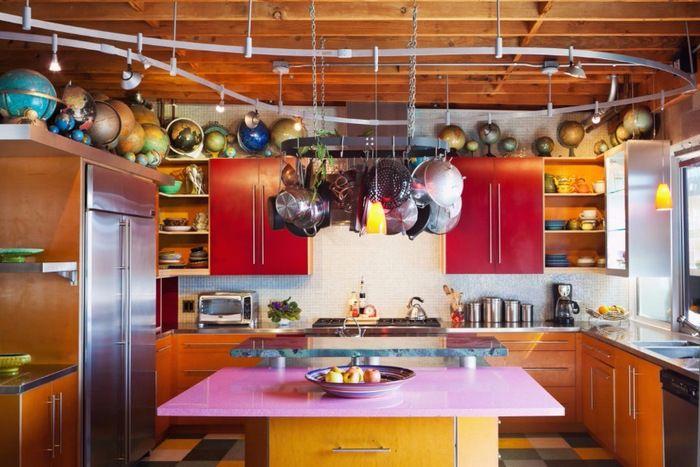 Цвет для кухни: 12 свежих современных идей
