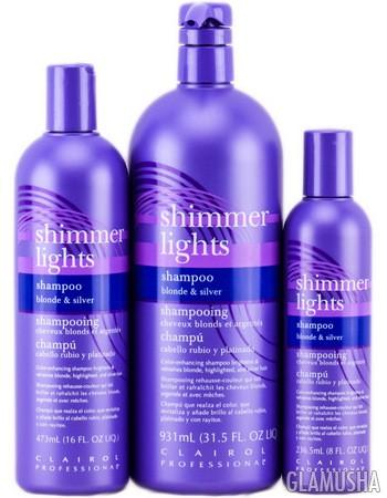 средства для пепельного цвета волос clairol professional shimmer lights blonde silver