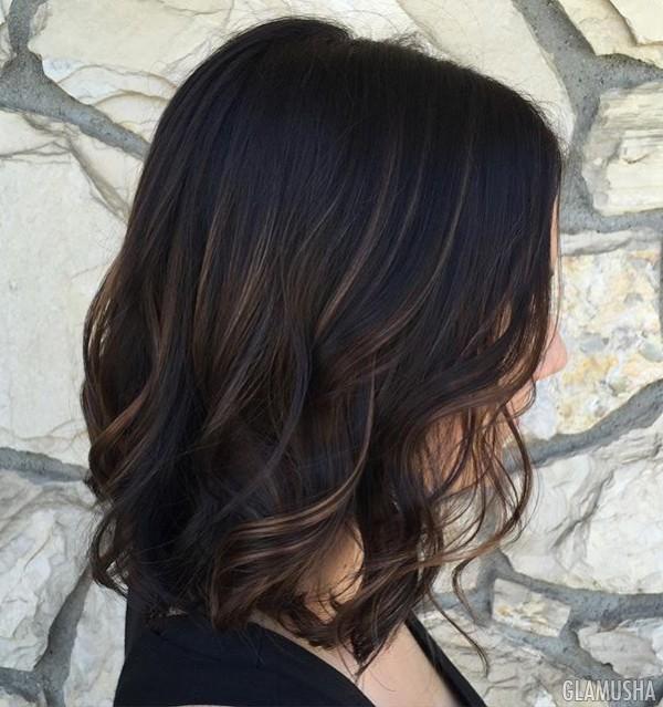 хна на темные волосы