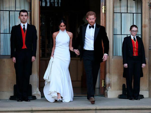 второе свадебное платье Меган Маркл