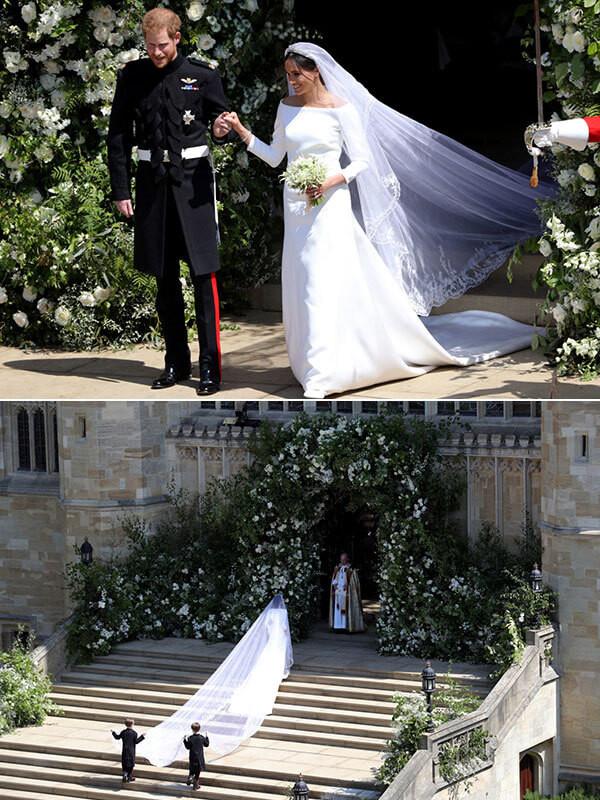 платье Меган Маркл на свадьбу