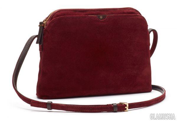fe36474c3264 18 Замшевая сумка через плечо «Multi Pouch» от The Row