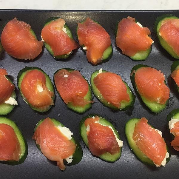 диетические закуски из рыбы