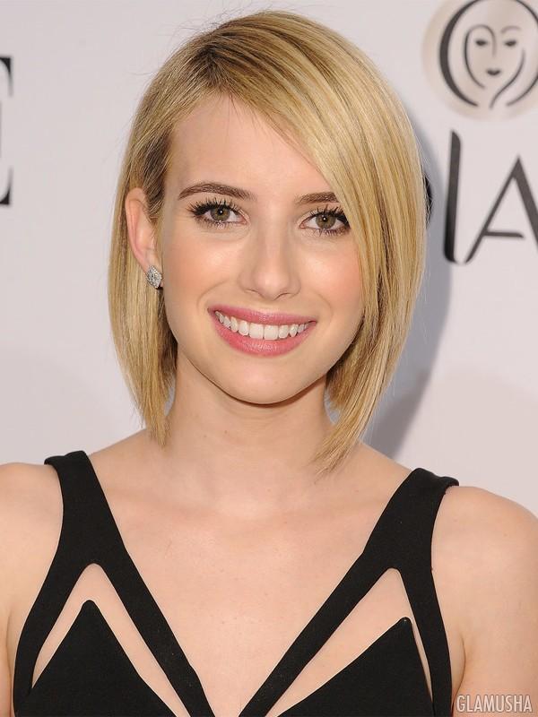Холодные оттенки блонда на короткие волосы