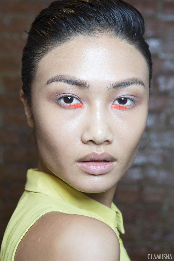 модные тенденции весна 2015, макияж глаз