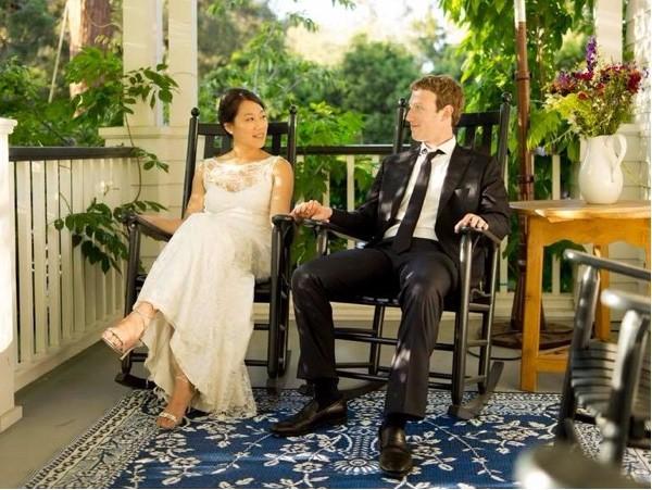 Марк Цукерберг с семьей