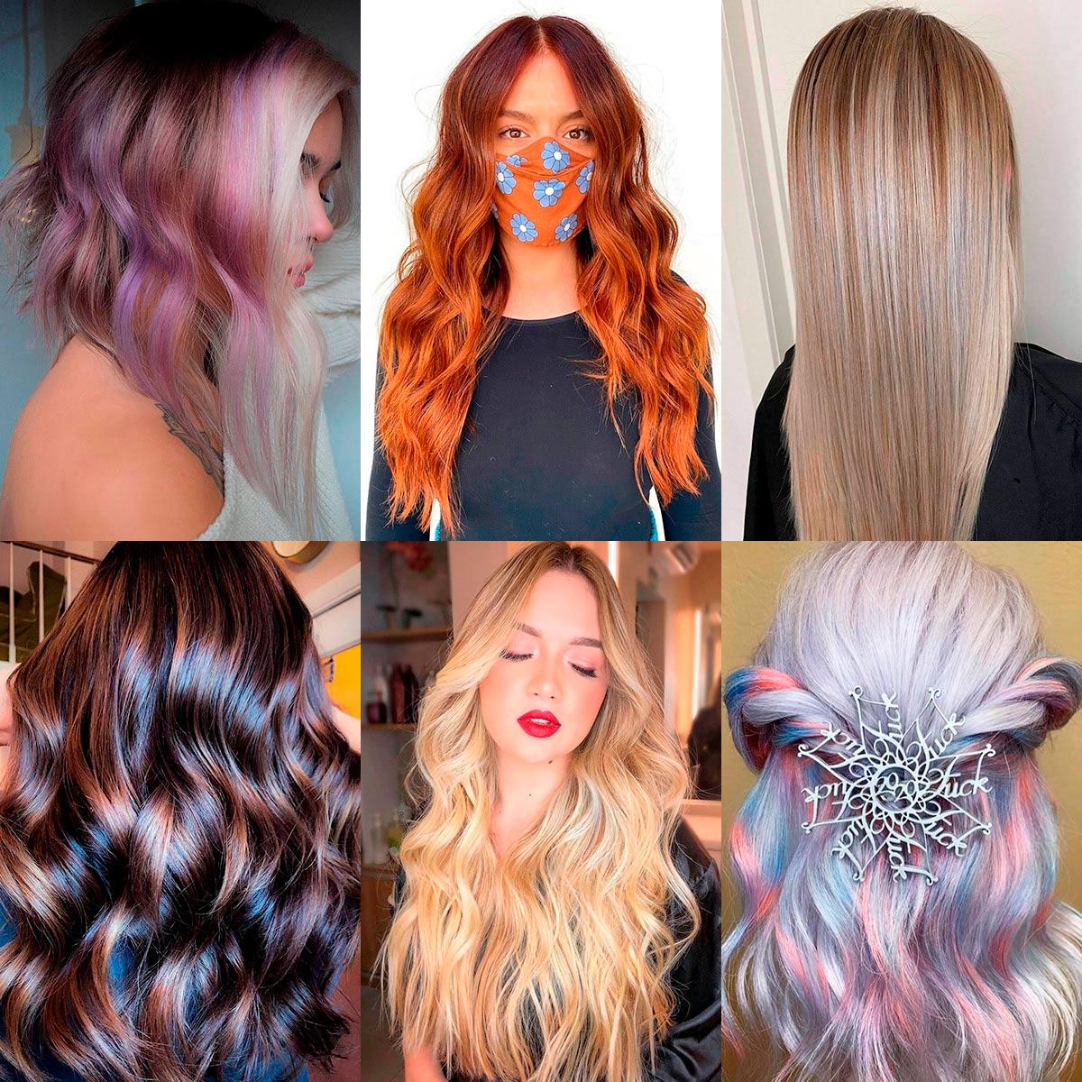 Модное окрашивание волос 2021 (100 фото): цвет - для коротких, средних, длинных
