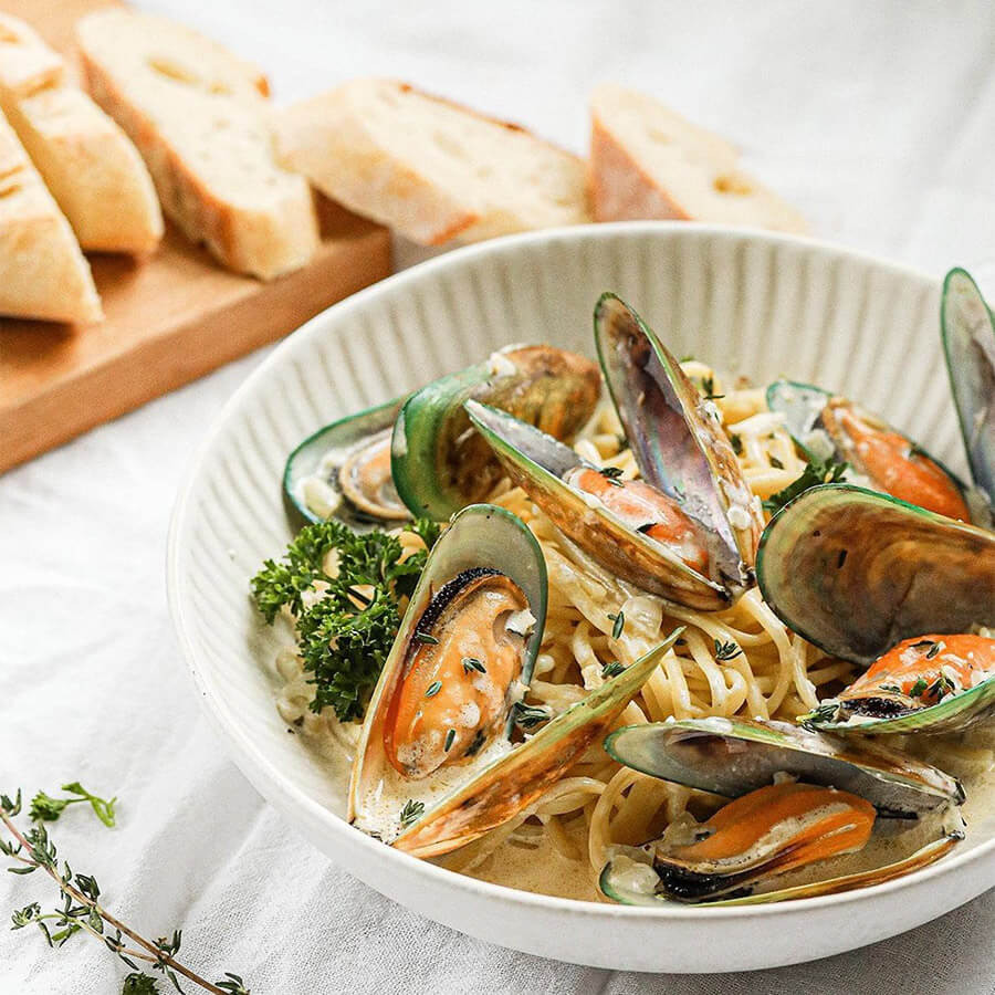 пп паста с морепродуктами