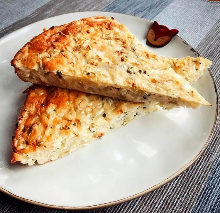 капустный пп пирог с лавашом