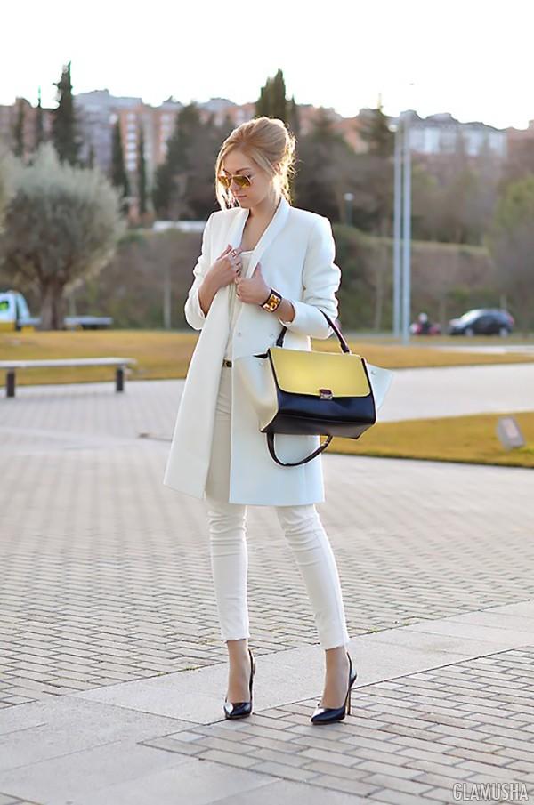 белое пальто 2015