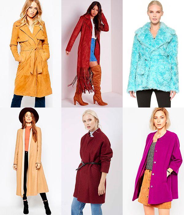 Модные пальто: осень (30 фото)