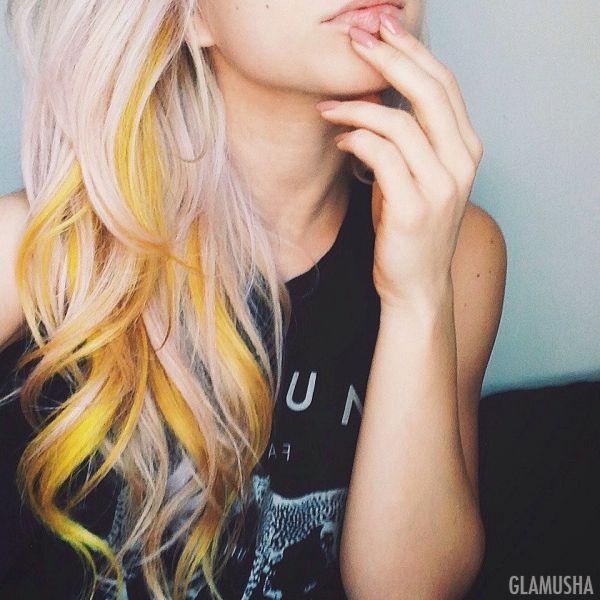 пастельные цвета волос