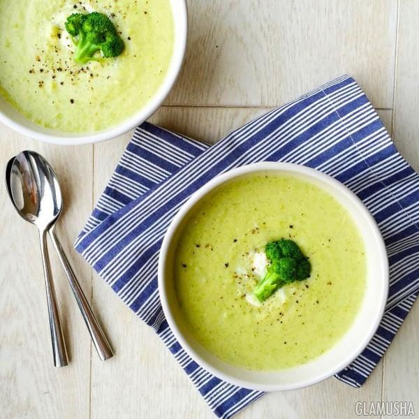 Сырный крем-суп из брокколи