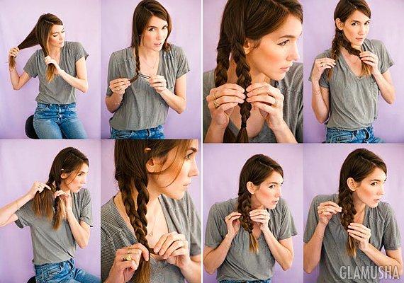фото урок как заплести косу