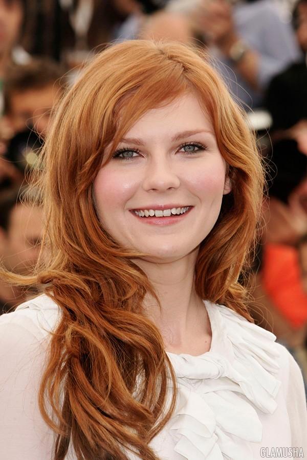 красно рыжий оттенок волос