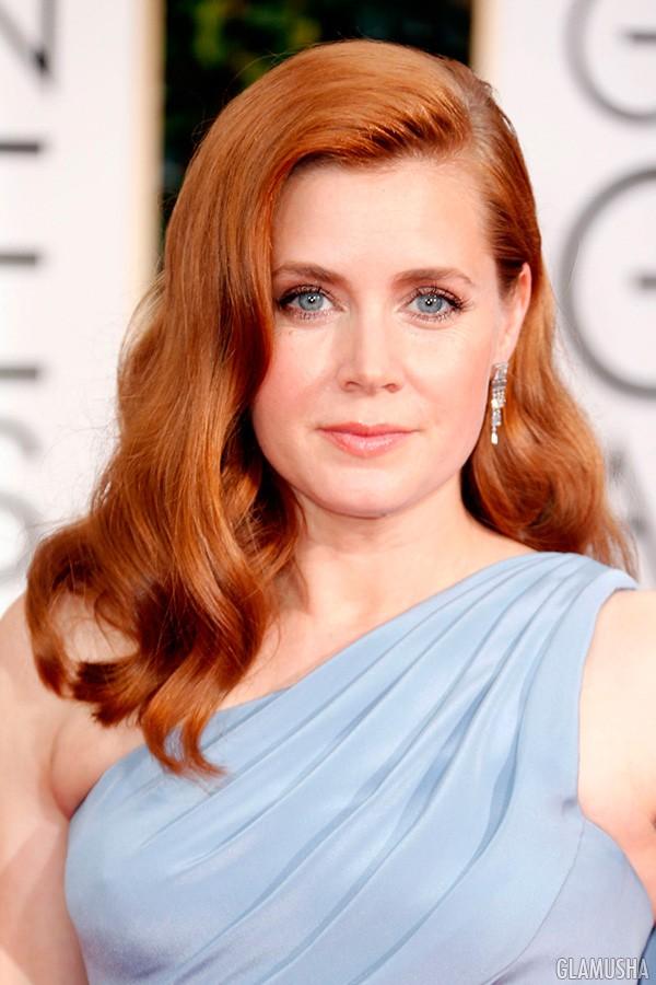 золотисто-каштановый оттенок рыжего цвета волос