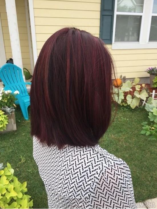 Цвет волос Махагон: 10 идей окрашивания