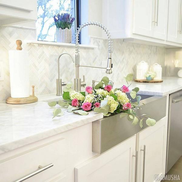 чистка кухонной раковины народными средствами