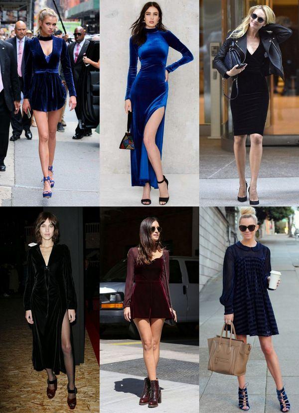 61b44e5f8216f4c Тренд сезона – платья из бархата: не только для торжественных нарядов