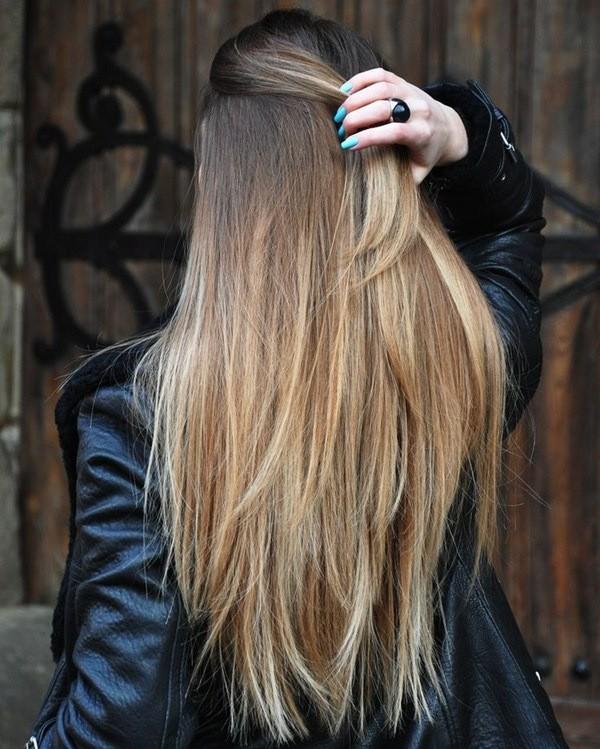балаяж омбре и шатуш на волосах