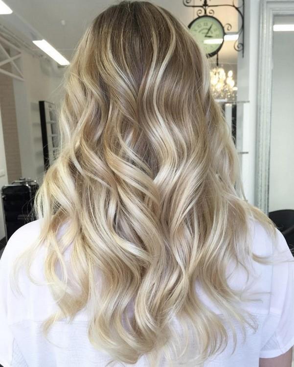 шатуш на светлые волосы Фото