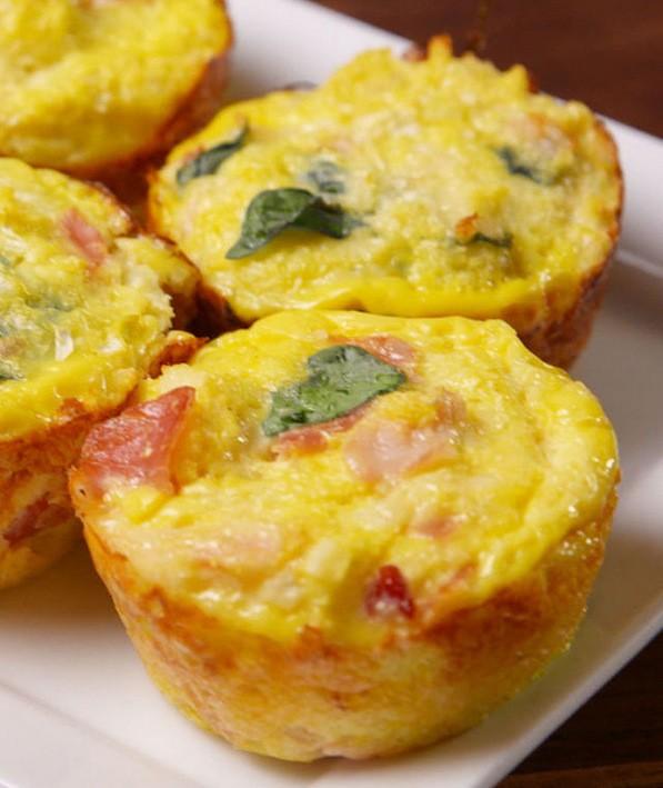 что приготовить ребенку на завтрак: вкусные маффины