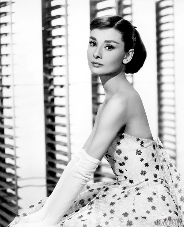 стиль и прически Одри Хепберн, Audrey Hepburn