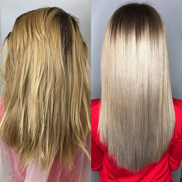 горячий ботокс для волос